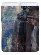 Grand Canyon Close Enough Duvet Cover
