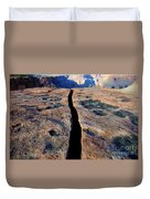 Grand Canyon Dividing Line Duvet Cover