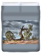 Grand Canyon Facing The Storm Duvet Cover