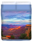 Grand Canyon Grand Sky Duvet Cover