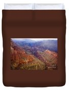Grand Canyon Morning Scenic View Duvet Cover