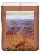 Grand Canyon Nationa Park Painting Duvet Cover