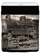 Grand Canyon Railroad Locomotive Duvet Cover