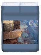 Grand Canyon Raw Nature Duvet Cover