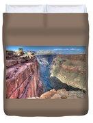 Grand Canyon Toroweap Vista Duvet Cover
