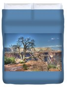 Grand Canyon Tree At Toroweap Duvet Cover