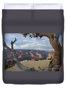 Grand Canyon Tree Duvet Cover