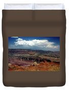 Grand Canyon View - Greeting Card Duvet Cover
