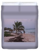 Grand Cayman Surfer Duvet Cover