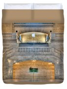 Grand Central Terminal East Balcony I Duvet Cover