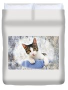 Grand Kitty Cuteness 2 Duvet Cover