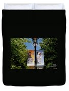 Grand Ole Opry Flags Nashville Duvet Cover