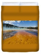 Grand Prismatic Spring IIi Duvet Cover