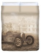 Grand Prix Racing Car 1926 Duvet Cover by Jutta Maria Pusl