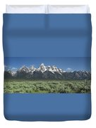 Grand Teton Spring Duvet Cover