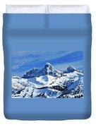 Grand Teton Winter Duvet Cover