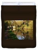 Grand Union Canal Near Denham Duvet Cover