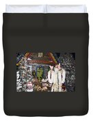 Grandfather Frost Of Russia Duvet Cover