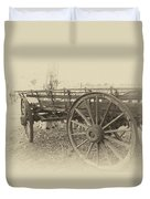 Grandfather's Sunday Drive Duvet Cover