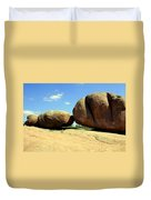 Granite Boulders 2  Duvet Cover