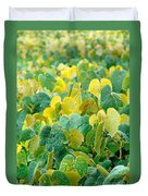 Grapevines In Azores Islands Duvet Cover