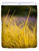 Grass Abstract 3 Duvet Cover