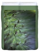 Grass Abstraction Duvet Cover