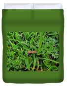 Grass Drops II Duvet Cover