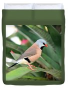 Grass Finch Duvet Cover