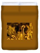 Grass In Golden Light Duvet Cover