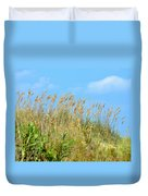Grass Waving In The Breeze Duvet Cover