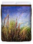 Grasses Standing Tall Duvet Cover