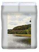 Grassy Beach Duvet Cover