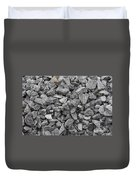 Gravel - Road Metal Duvet Cover