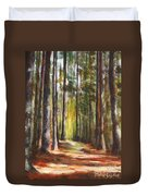 Great Brook Farm Summer Path Duvet Cover
