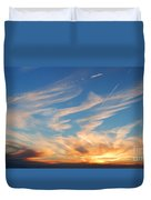 Great Canadian Sunset Duvet Cover