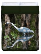 Great Egret Duvet Cover