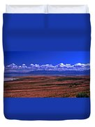 Great Salt Lake And Antelope Island Duvet Cover