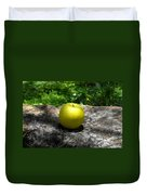 Green Apple Duvet Cover