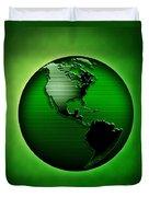 Green Earth Duvet Cover
