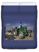 Green Field Marshall Duvet Cover