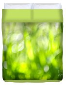 Green Grass In Sunshine Duvet Cover by Elena Elisseeva