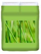 Green Green Grass Of Home Duvet Cover