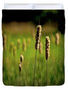 Green Grow The Rushes O Duvet Cover