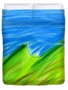 Green Hills Duvet Cover