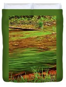 Green River Duvet Cover by Elena Elisseeva
