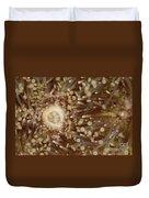 Green Sea Urchin Duvet Cover