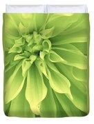 Green Sherbet Duvet Cover