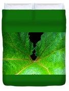 Green Spider Leaf Duvet Cover