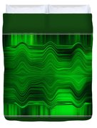 Green Waters Duvet Cover